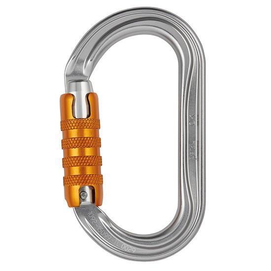 Petzl OK Triact Lock Oval Carabiner